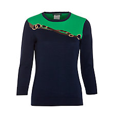 Buy Lauren by Ralph Lauren Gilly Crew Neck Jumper, Multi Online at johnlewis.com