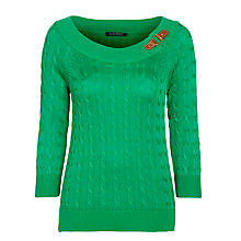 Buy Lauren by Ralph Lauren Shaelea Jumper Online at johnlewis.com