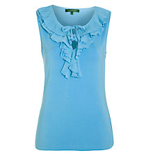 Buy Lauren by Ralph Lauren Stu Top, Blueberry Online at johnlewis.com