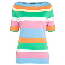 Buy Lauren by Ralph Lauren Benny Knitted Top, Multi Online at johnlewis.com