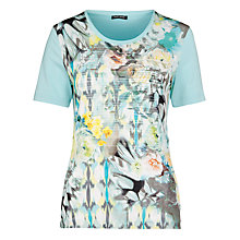 Buy Gerry Weber Printed T-Shirt, Ecru Online at johnlewis.com