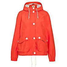 Buy Aigle Rainsong Waterproof Jacket, Red Online at johnlewis.com