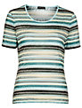 Gerry Weber Blue Striped T-Shirt, Blue