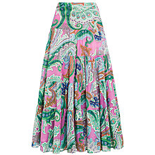 Buy Lauren by Ralph Lauren Moriah Skirt, Pink Multi Online at johnlewis.com