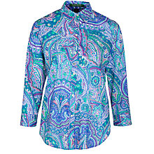 Buy Lauren by Ralph Lauren Priya Shirt, Blue Multi Online at johnlewis.com