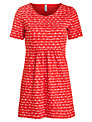People Tree Bella Tunic Top, Red