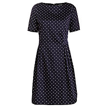 Buy People Tree Elizabeth Dress, Navy Online at johnlewis.com