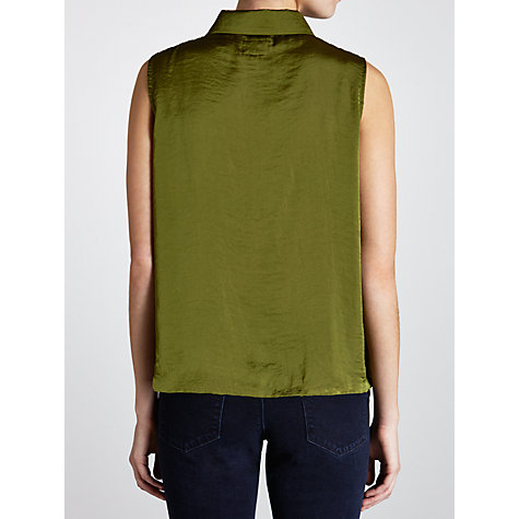 Buy Avoca Anthology Trouve Sleeveless Shirt, Palm Online at johnlewis.com