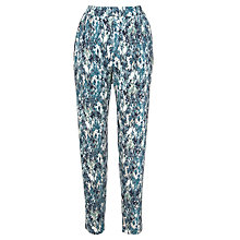Buy Sandwich Printed Jersey Trouser, Jade Online at johnlewis.com