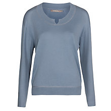 Buy Sandwich Boxy Knit Jumper, Tender Blue Online at johnlewis.com