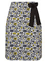 Avoca Anthology Flower Print Skirt, Sunshine