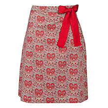Buy Avoca Paisley Print Skirt, Red Print Online at johnlewis.com