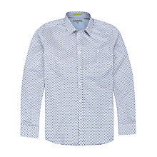 Buy Ted Baker Geewiz Mini Geo Print Shirt, Blue Online at johnlewis.com