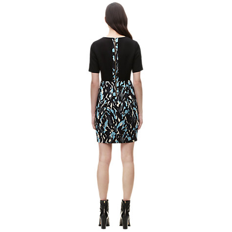Buy Whistles Clara Ripple Print Dress, Multicolour Online at johnlewis.com