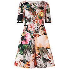 Buy Ted Baker Timliaa Floral Dress, Ivory Online at johnlewis.com