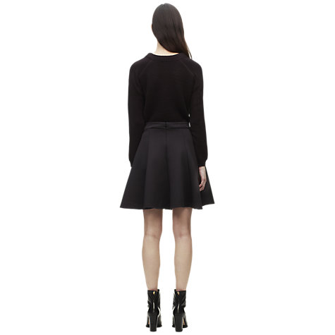 Buy Whistles Neoprene Skater Skirt Online at johnlewis.com