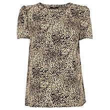 Buy Oasis Animal Print Top, Animal Online at johnlewis.com