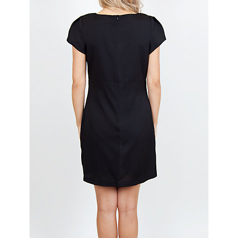 Buy Whistle & Wolf Lace Block Dress, Black/Violet Online at johnlewis.com