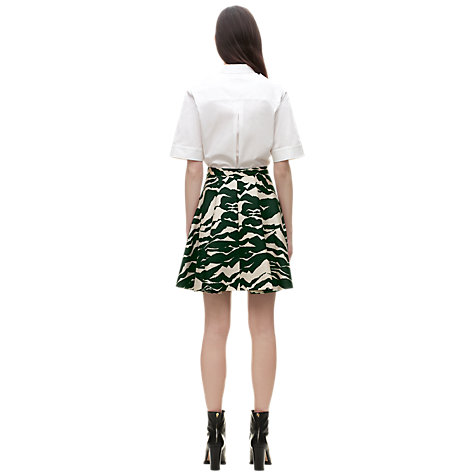 Buy Whistles Mystic Mountain Print Skater Skirt, Multi Online at johnlewis.com