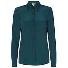 Buy NW3 by Hobbs Carolina Shirt, Jewel Green Online at johnlewis.com