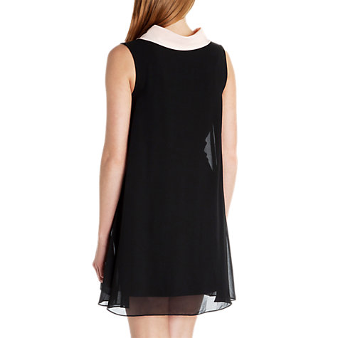 Buy Ted Baker Belloh Collar Detailed Dress, Black Online at johnlewis.com