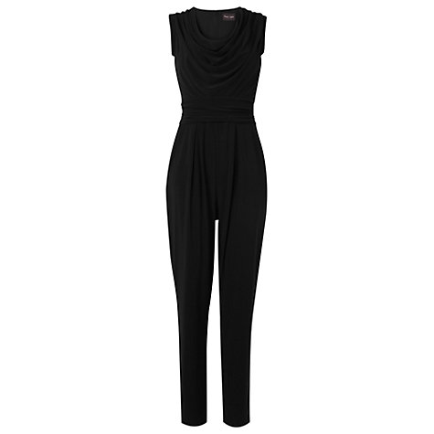 Buy Phase Eight Ellie Jumpsuit, Black Online at johnlewis.com
