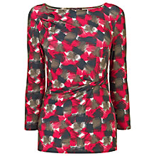 Buy Phase Eight Gracie Graphic Print Top, Multi-coloured Online at johnlewis.com