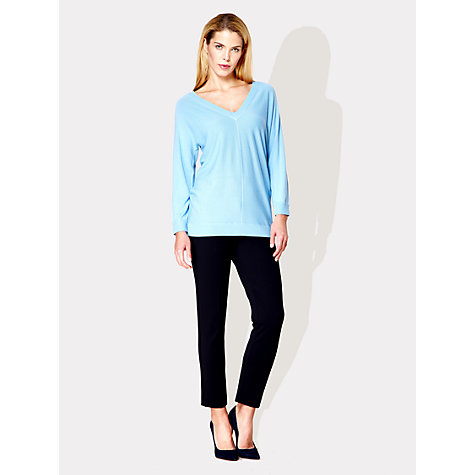 Buy Damsel in a dress Fern Jumper, Pale Blue Online at johnlewis.com