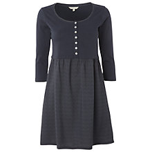 Buy White Stuff Fern Kaftan Dress, Dark Atlantic Online at johnlewis.com