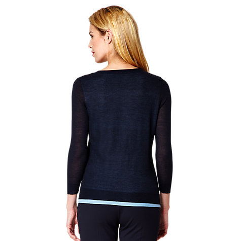 Buy Damsel in a dress Marina Cardigan, Ink Online at johnlewis.com
