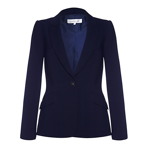 Buy Damsel in a dress Sanibel Tailored Jacket, Navy Online at johnlewis.com