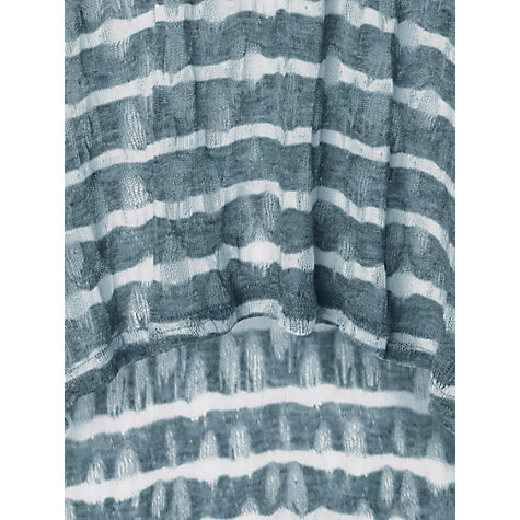 Buy Phase Eight Pointelle Stripe Joplin Top, Airforce Online at johnlewis.com