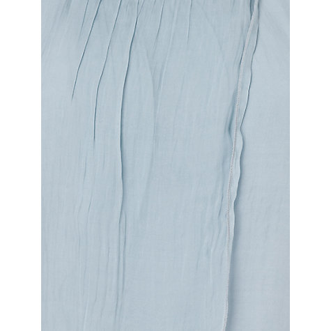 Buy Phase Eight Fliss Layered Silk Blouse, Pale Blue Online at johnlewis.com
