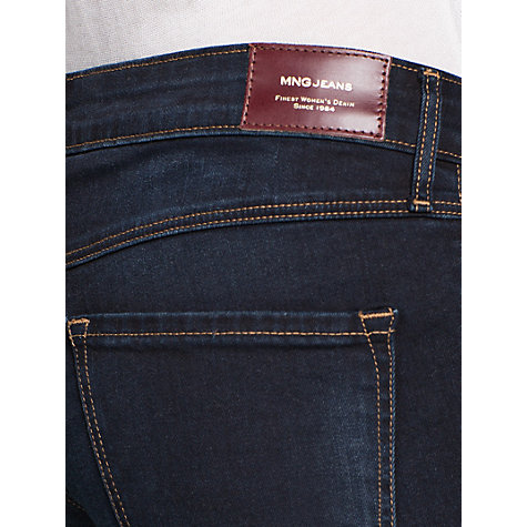 Buy Mango Slim Fit Jeans, Light Pastel Blue Online at johnlewis.com