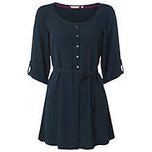 Buy White Stuff China Cup Tunic, Deep Teal Online at johnlewis.com