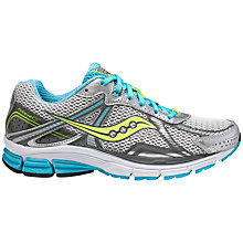 Buy Saucony Women's Phoenix 7 Running Shoes, White/Blue Online at johnlewis.com