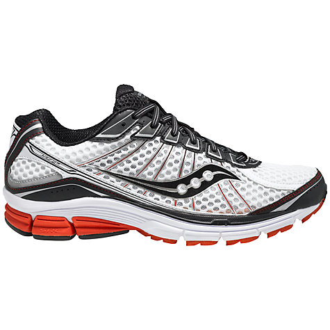Buy Saucony Jazz 17 Men's Running Shoes, White/Black Online at johnlewis.com