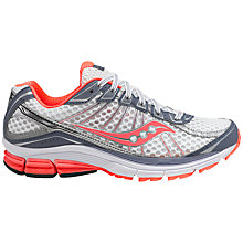 Buy Saucony Women's Jazz 17 Running Shoes, White/Pink Online at johnlewis.com