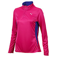 Buy Puma Long Sleeve Running Top, Pink Online at johnlewis.com