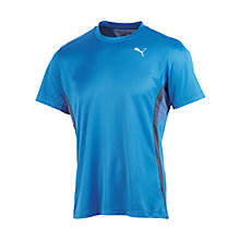 Buy Puma Pure Tech Crew Neck T-Shirt, Blue Online at johnlewis.com