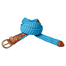 Buy Scotch & Soda Braided Cotton Belt, Blue Online at johnlewis.com