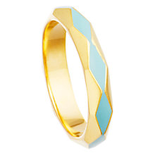 Buy Astley Clarke Colour 18ct Gold Vermeil Enamel Facet Ring Online at johnlewis.com