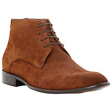 Buy Dune Monte Carlo Desert Boots, Brown Online at johnlewis.com