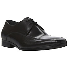 Buy Dune Aintree Tramline Derby Shoes, Black Online at johnlewis.com