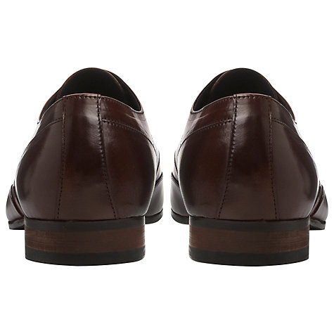Buy Dune Ashwell Apron Lace Up Shoes, Dark Brown Online at johnlewis.com