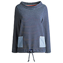 Buy Joules Connick Sweatshirt, Indigo Stripe Online at johnlewis.com