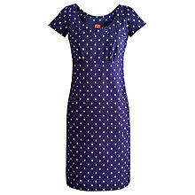 Buy Joules Marcie Dress, Indigo Spot Online at johnlewis.com