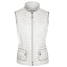 Buy Gerry Weber Printed Gilet, Grey Online at johnlewis.com