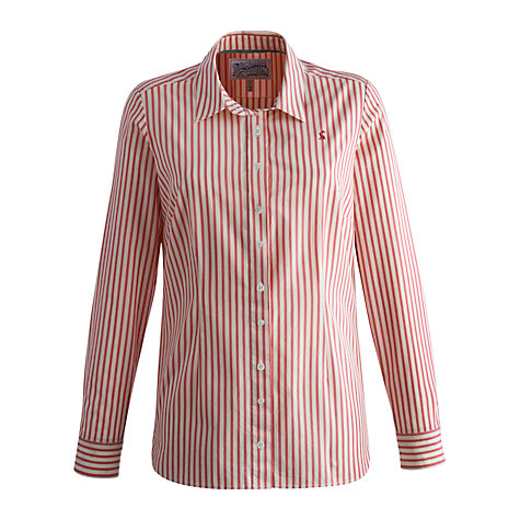 Buy Joules Kingston Shirt, Pink Stripe Online at johnlewis.com