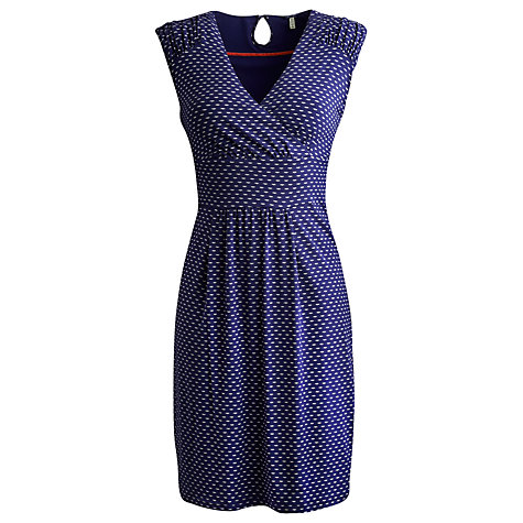 Buy Joules Marilyn Dress, Indigo Seagull Online at johnlewis.com